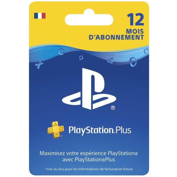 carte playstation plus 12 mois Abonnement PlayStation Plus 12 mois   KOX Maroc